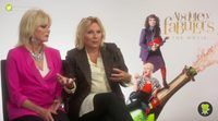 "Jennifer Saunders and Joanna Lumley: ""Our characters are almost cartoons"""