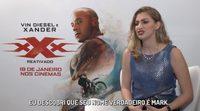 Vin Diesel embarrasses Carol Moreira in an interview