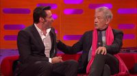 Hugh Jackman thanks to Ian McKellen and Patrick Stewart in the Graham Norton Show