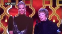 Iranian TV censors Charlize Theron's Oscar dress
