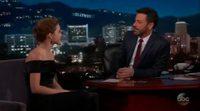 Emma Watson admits on Jimmy Kimmel's program having been a loser