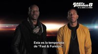 Tyrese Gibson and Ludacris have a message for the 'Fast & Furious 8' fans