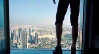 Tom Cruise in 'Mission Impossible: Ghost Protocol' - Dubai Burj Khalifa scene