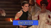 Emma Watson accepts MTV Award for 'The Beauty and the Beast'