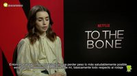 Lily Collins ('To the Bone'):