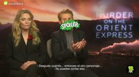 Michelle Pfeiffer and Willem Dafoe share all the secrets of the Orient Express