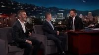 David Benioff and D.B. Weiss answer some questions about 'Game of Thrones' in 'Jimmy Kimmel Live!'