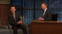 Interview Tom Holland at Late Night withe Seth Meyers