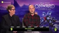 Interview with Dan Scanlon and Kori Rae, director and producer of Pixar's 'ONWARD'