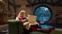 Capital One's Christmas ad with John Travolta and Samuel L. Jackson