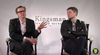 'Kingsman: The Secret Service' Interview with Colin Firth and Taron Egerton