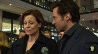 Sigourney Weaver and Hugh Jackman react to the death of Leonard Nimoy
