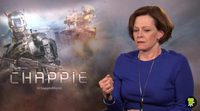 Interview with Sigourney Weaver, 'Chappie'