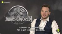"""Chris Pratt: """"There are some really intense action sequences in this movie"""""""