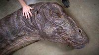'Jurassic World' Apatosaurus' Making Of
