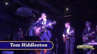 Tom Hiddleston performs as Hank Williams