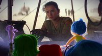 The characters from 'Inside Out' react to 'Star Wars: The force awakenes' trailer