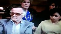 Stan Lee's cameo in 'The Trial of the Incredible Hulk' (1989)