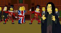 Alan Rickman in 'The Simpsons'
