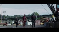 'Deadpool' movie clip two girls one punch