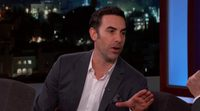 Sacha Baron Cohen Shows EXTREMELY Graphic Movie Clip to Kimmel Audience