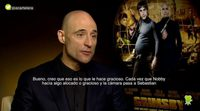 "Mark Strong: ""There was a lot of scenes that we crack up with"""