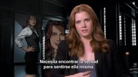 Amy Adams interview 'Batman v Superman: Dawn of Justice'
