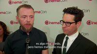 'Star Trek: Beyond' Interview J.J. Abrams y Simon Pegg